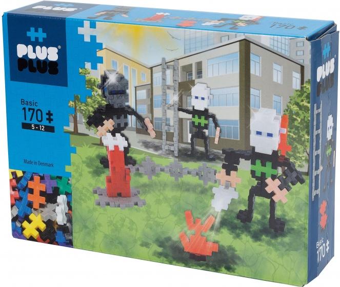 plus plus mini basic brandweermannen 170 stuks internet toys. Black Bedroom Furniture Sets. Home Design Ideas