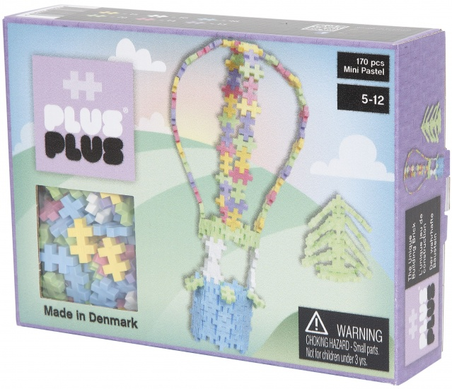 Plus Plus Mini Pastel Luchtballon 170 delig