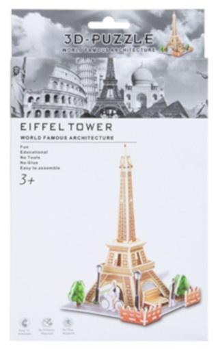 PMS 3D Puzzel Eiffel Tower foam 26 stukjes kopen