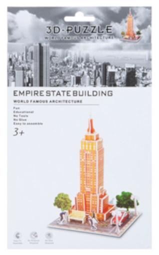 PMS 3D Puzzel Empire State Building foam 30 stukjes