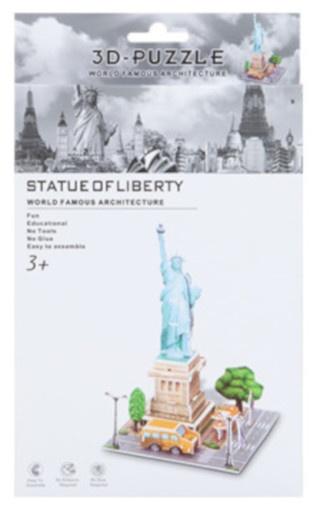 PMS 3D Puzzel Statue of Liberty foam 26 stukjes kopen