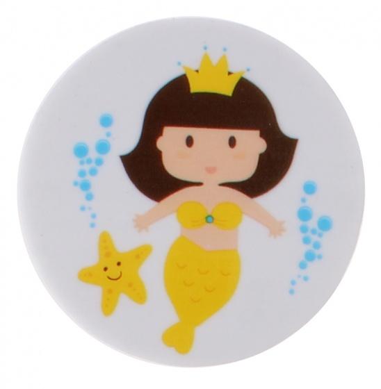 PMS gum zeemeermin 35 mm geel kopen