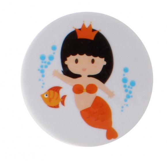 PMS gum zeemeermin 35 mm oranje kopen