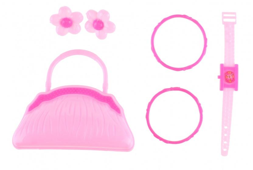 PMS sieradenset Bag S meisjes 6 delig lichtroze