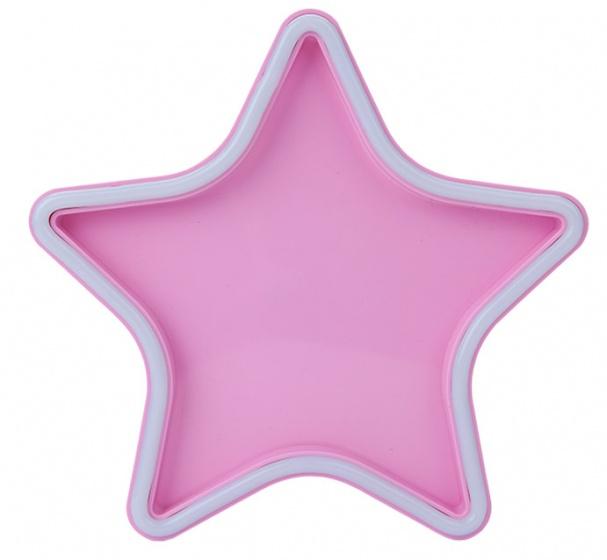 Kamparo sterrenlamp neonverlichting roze 25,5 x 25,5 x 4,5 cm kopen