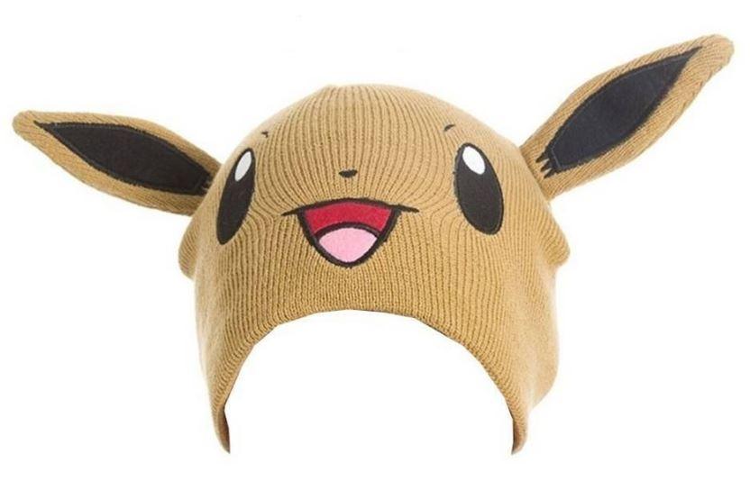 Pokémon Beanie Eevee Unisex Bruin One Size