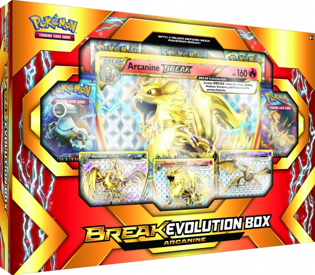 Pokémon Break Evolution box: Arcanine 9 delig