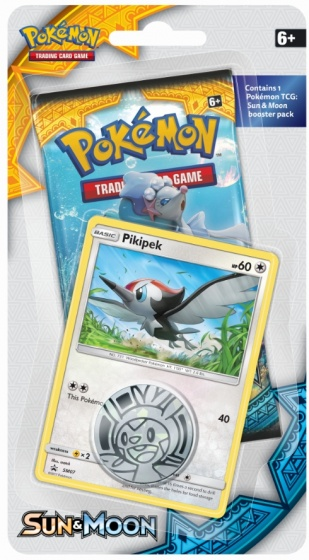 Pokémon Checklane booster Sun & Moon
