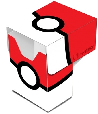 Pokémon deckbox Pokeball 10 x 7,5 x 5 cm