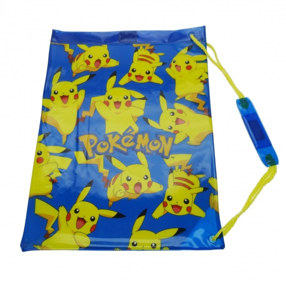 Pokémon Gymtas Pikachu 42 x 31 cm blauw