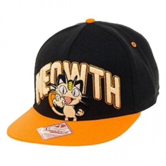 Pokémon Pet Meowth Unisex Zwart/Oranje One Size