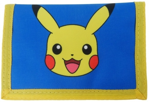 Pokémon portemonnee 10x10 cm blauw