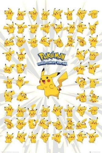 Pokémon Poster: Pikachu 61 x 92 cm