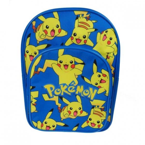 Pokémon rugzak junior 26 x 35 x 10 cm blauw