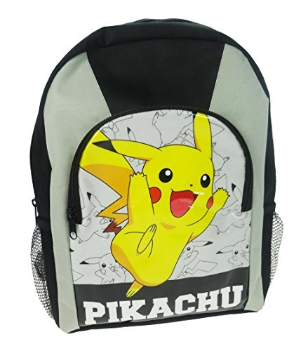 Pokémon rugzak Pikachu junior 26 x 35 x 10 cm geel