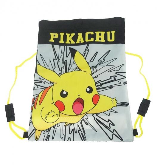 Pokémon Gymtas Pikachu 42 x 31 cm grijs