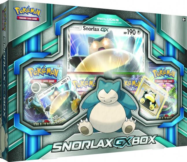 Pokémon TCG Snorlax GX box 8 delig