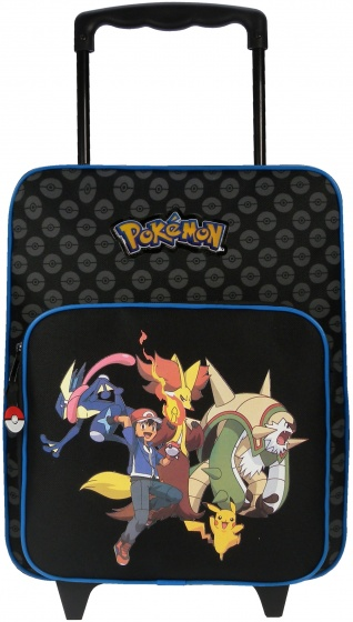 Pokémon Trolley Evolution 35 x 28 x 12 cm zwart