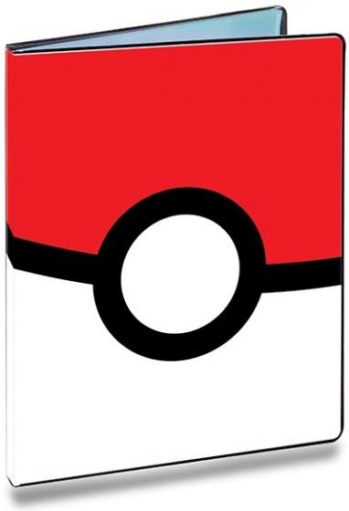 Pokémon verzamelmap 9 pocket: Pokeball 30 x 23 cm