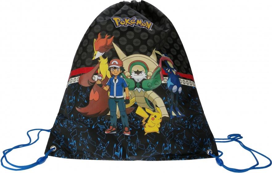 Pokémon Gymtas Evolution 44 x 37 cm zwart
