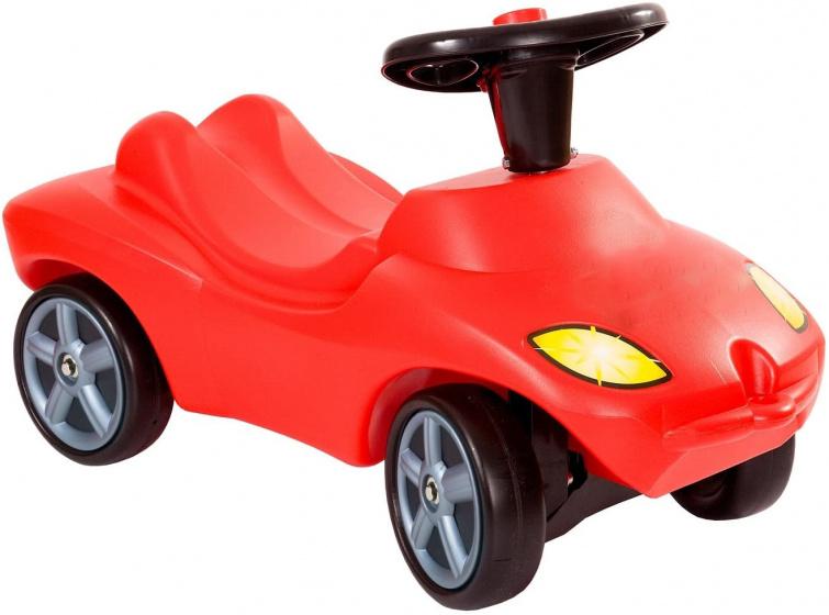 Polesie loopauto Happy Car junior 69 x 29 cm rood/zwart