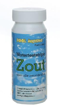 Pool Improve 16 Teststrips Zoutelektrolyse Systeem