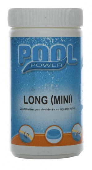 Pool Power Desinfectie Tabletten Long Mini 1 kg