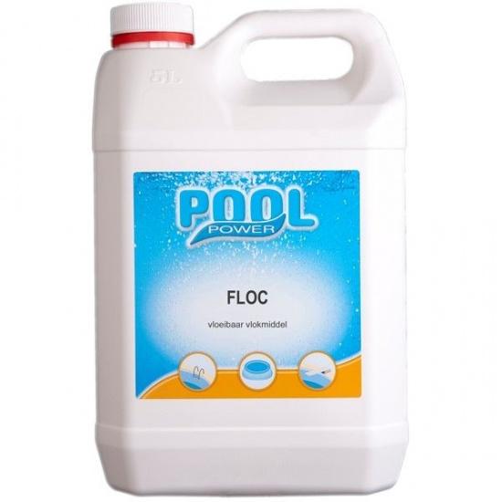 Pool Power Power Floc vloeibaar vlokmiddel 5 liter