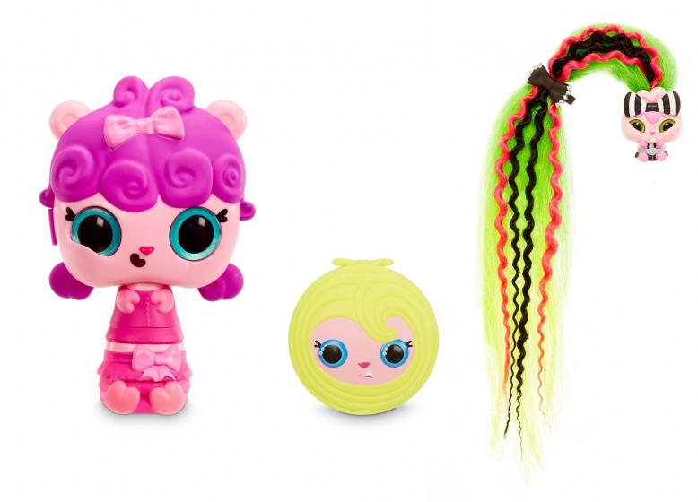 Pop Pop verrassingspop Hair Surprise Fancy meisjes 13 cm 9 delig
