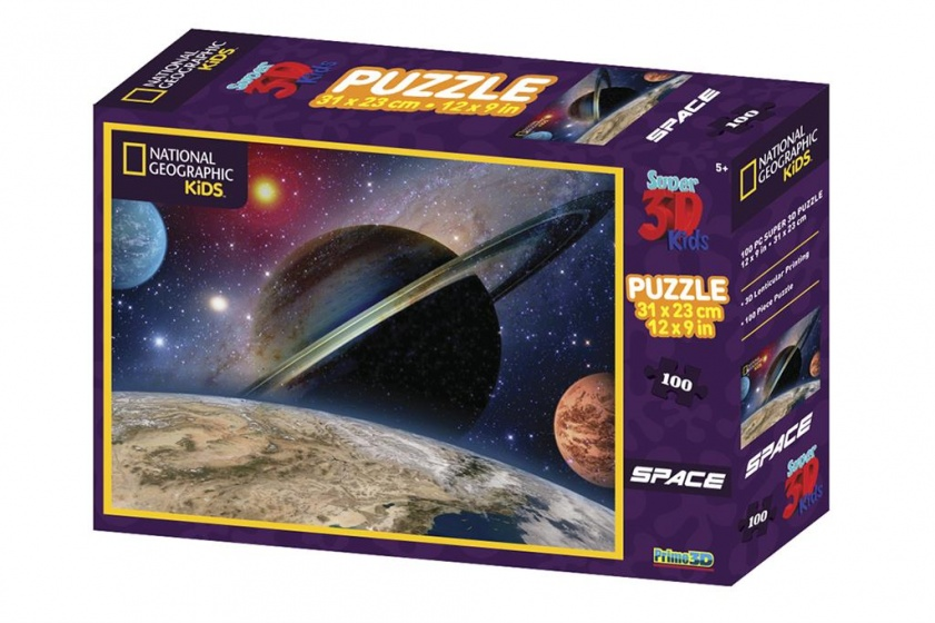 Prime 3D puzzel ruimtelandschap 100 stukjes