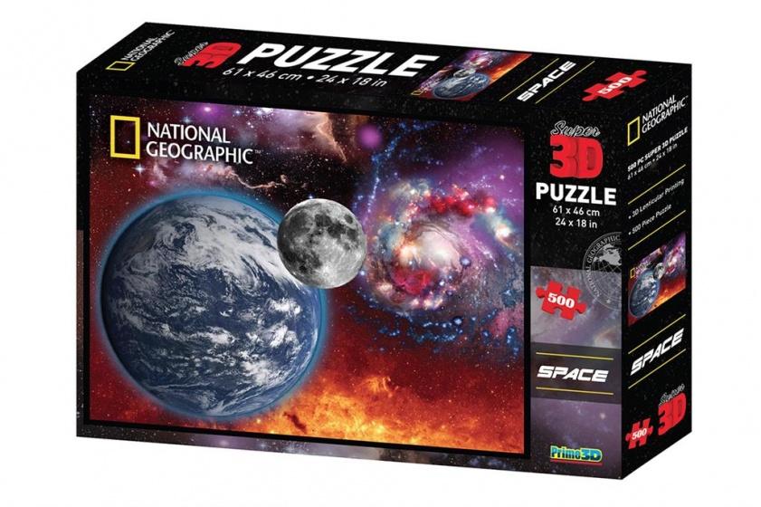 Prime 3D puzzel ruimtelandschap 500 stukjes