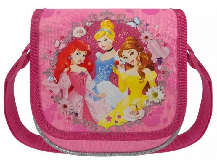 Disney Princess Schoudertas prinsessen roze 1 liter
