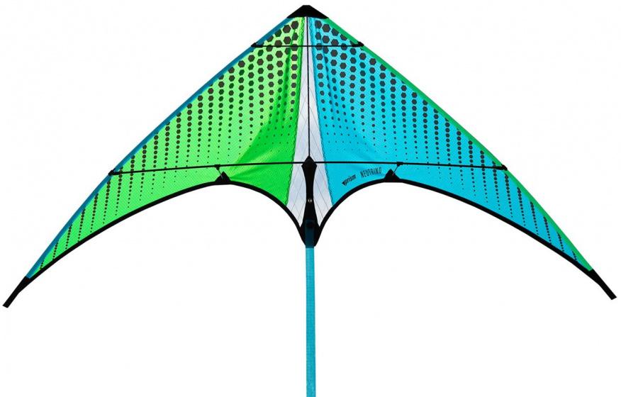 Prism Prism neutrino mojito vlieger stuntvlieger groen-blauw