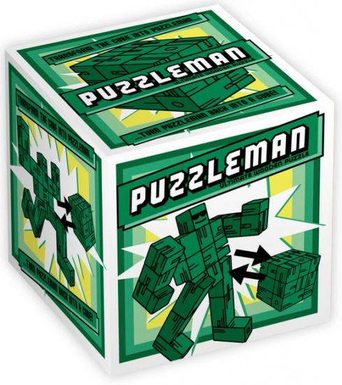 Professor Puzzle Puzzleman Green 15 Stukjes