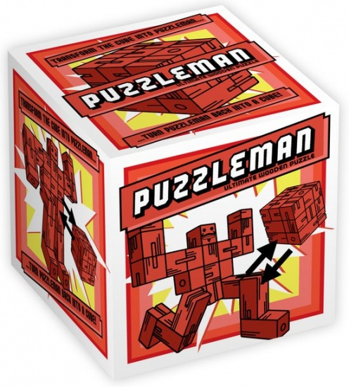 Professor Puzzle Puzzleman Red 15 Stukjes