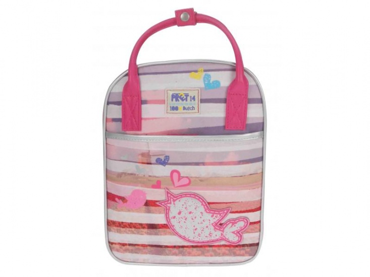 Prêt Denimized shopper roze 10 x 22 x 29 cm