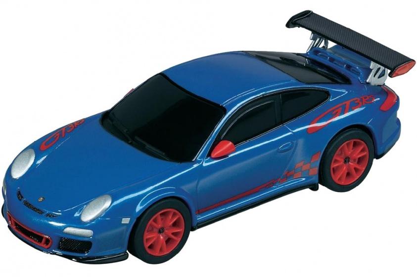 Pull & Speed Porsche 997 GT3 RS sportauto blauw 10 cm