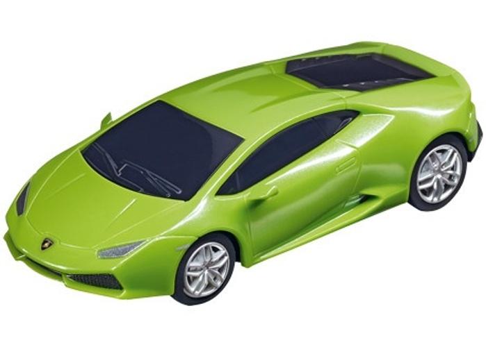 Pull & Speed sportauto Lamborghini Huracan groen 10 cm
