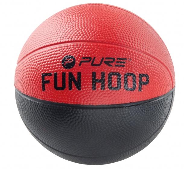 Pure2Improve fun foam bal 4.0 rood/zwart