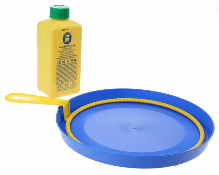 Ring Bubble Blowers : Pustefix bubble blast with large ring cm blue