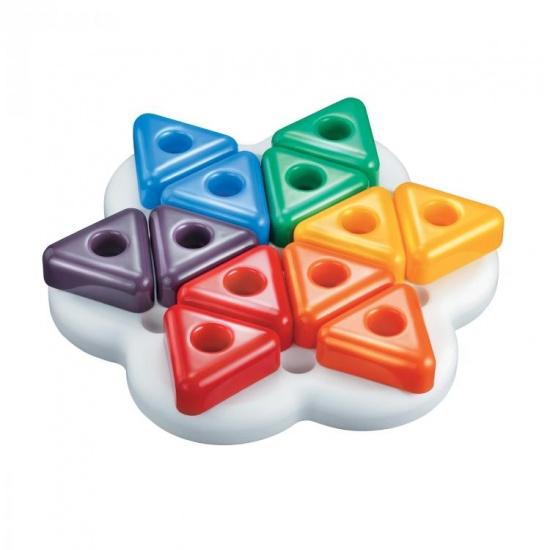 Quercetti Daisy Basic Triangoli bouwblokken 13 delig