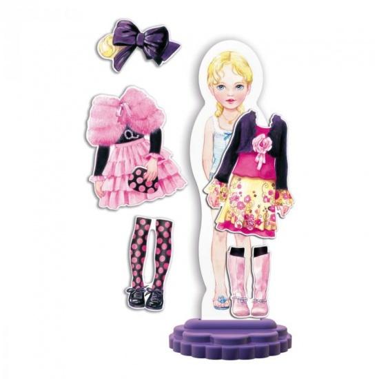 Quercetti Fashion Design Mya aankleedpop 20 delig