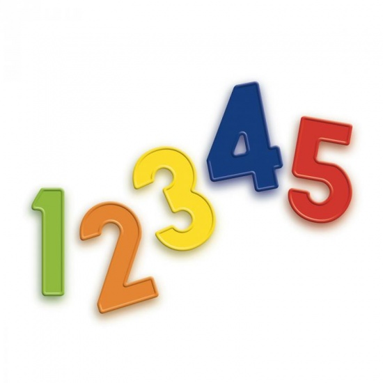 Quercetti magneetcijfers 48 delig