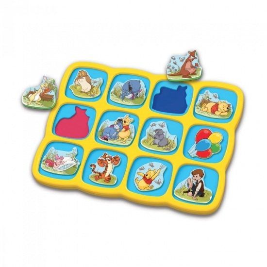 Quercetti magnetische Winnie the Pooh puzzel 12 delig