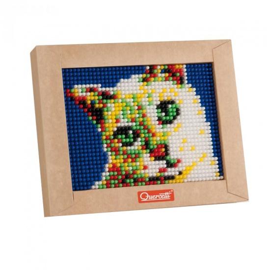 Quercetti mini pixel art kat 21 x 17 cm 1200 delig