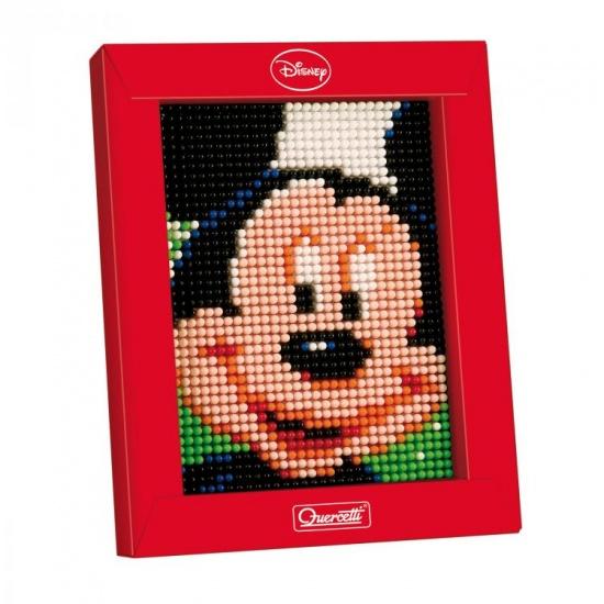 Quercetti mini pixel art Mickey Mouse 21 x 17 cm 1200 delig
