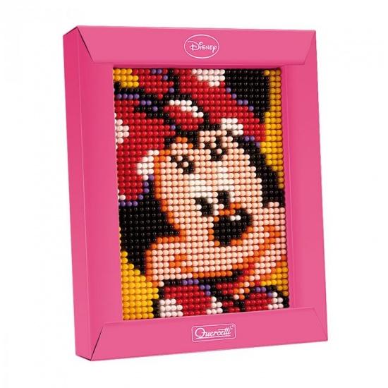 Quercetti mini pixel art Minnie Mouse 21 x 17 cm 1200 delig
