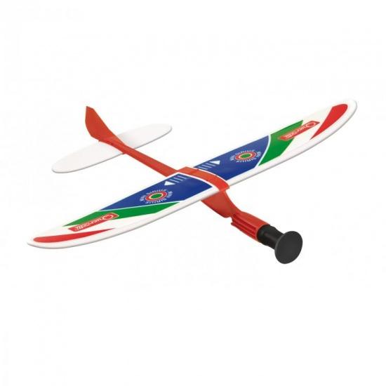 Quercetti Mini Sirius katapult vliegtuig