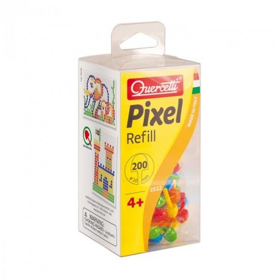 Quercetti Pixel aanvuldoos 10 mm 200 delig