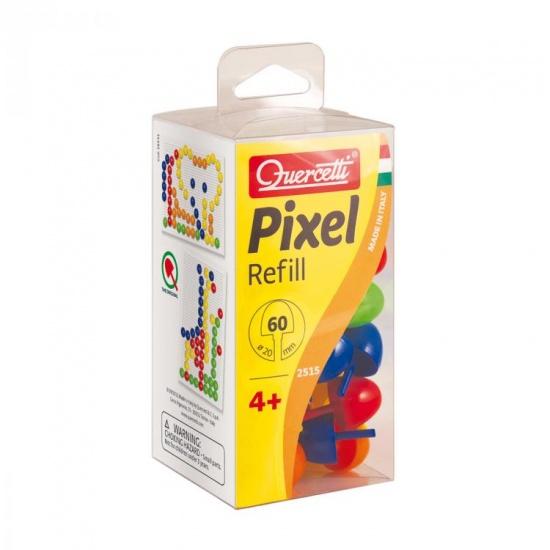 Quercetti Pixel aanvuldoos 20 mm 60 delig